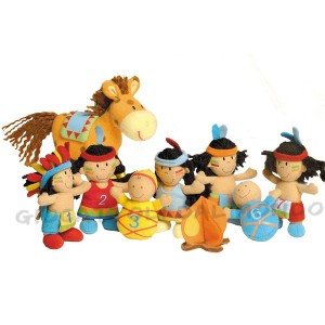 Lilliputiens Art 87831 10 piccoli indiani  3
