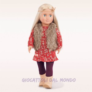 Bambola in vinile Claire OUG Dolls