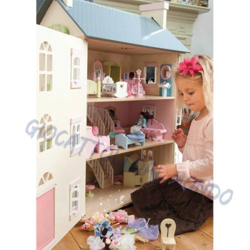 Casa delle bambole cherry tree house le toy van for Piani di casa in stile cracker