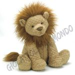 Morbido leone di peluche Jellycat Fuddlewuddle collection